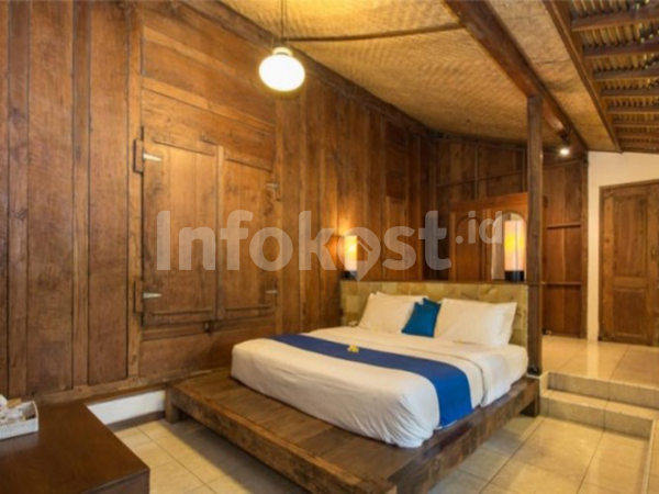 Villa Seminyak Wood Style